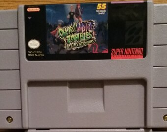 More Zombies Ate My Neighbors - SNES - NTSC - Full English