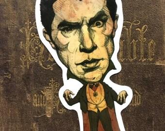 Dracula Vinyl Sticker