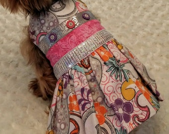 Clearance sale, pretty party dog dress