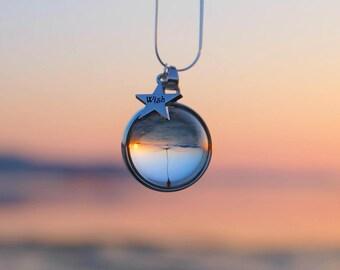 Make a wish necklace, Dandelion wish necklace, Real dandelion jewelry, Dandelion seed necklace, Real flower necklace, Dandelion wish jewelry
