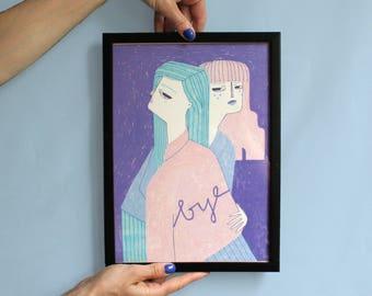 BYE (artprint)