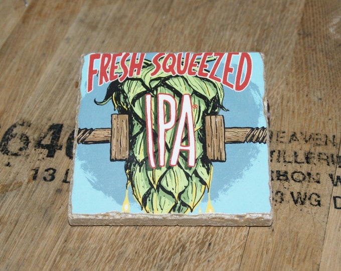 UPcycled Coaster - Deschuttes Brewing Co. - Fresh Squeezed IPA