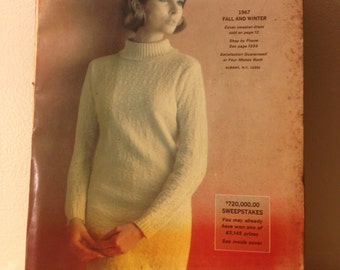 1967 Fall and Winter Montgomery Ward Magazine
