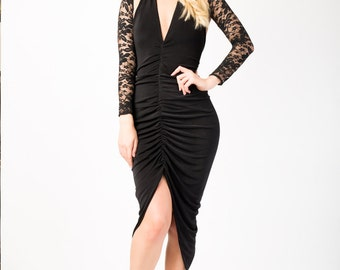 Straight lace removable sleeves