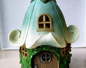 Flower Fairy House   Fairy Flower House   Fairy Garden Accessories   Miniature Garden House