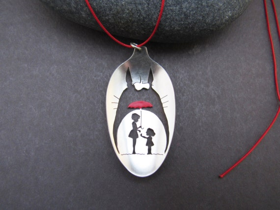 Spoon Necklace, Totoro Necklace