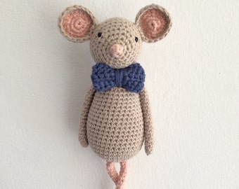 PATTERN! Alfred the shy rat amigurumi pattern by Kedito PDF FILE -download