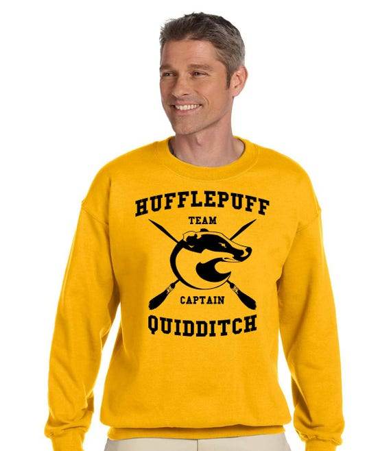 sweat harry potter quidditch poufsouffle sweatshirt. Black Bedroom Furniture Sets. Home Design Ideas