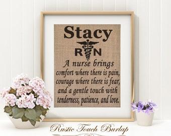 Nurse gift, Gift for Nurse, Nurse appreciation gift, Personalized nurse gift, Nurse Wall decor, Nurse office decor, Nurse decor, Nurse sign