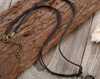 Nautical Necklace // Sailor Necklace // Knot Necklace  // String Necklace // Rope Necklace // Minimalist Necklace // Dainty Necklace