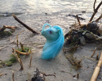 Beachcomber, Sea Pony, Pretty 'N Pearly Baby Sea Pony, G1 MLP, My Little Pony Photography, Digital Photography