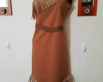Girls 2T-8 Pocahontas, Princess Inspired Dress, Indian Costume, Disney Vacation Outfit, Teen Disney World clothes, Native American, Cosplay