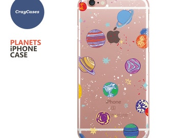 Planets iPhone Case, Planets iPhone 7 Case, Planets iPhone 7 Plus Case, Planets iPhone 6/s Case, iPhone 6/s Plus (Shipped From UK)