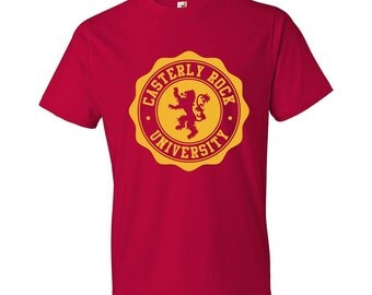 Casterly Rock University - T-Shirt, Game of Thrones, House Lannister