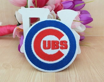 Chicago Cubs Iron On Transfter Patch