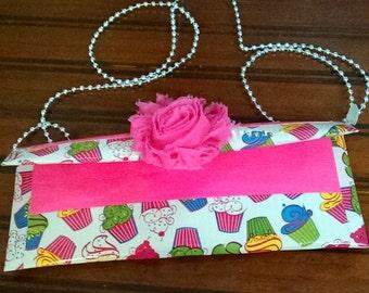 Duck tape purse -Cupcake