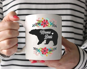 mama bear mug, mama bear mugs, mama bear, mom mugs, wholesale mugs,Gifts for Mom, Novelty Gifts for Mom, Mama Bear Coffee Mug, Mother's Day