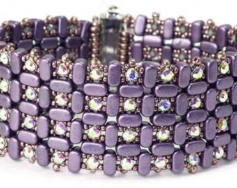 Pattern Karios Bracelet avec des perles Ios par Puca®