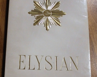 Vintage Elysian Seamless Support Stockings From The 1930's