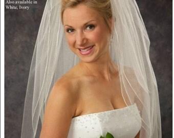 White Bridal Veil (JL Johnson 3 Layers)