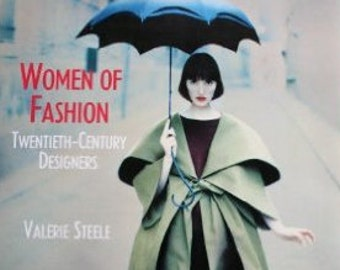 "20th Century Fashion Designer Book: ""Women of Fashion, 20th century Designers"" by Steele, Women's Studies, Design, Art and Costume History"
