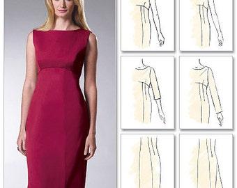 PLUS SIZE Dress Sewing Pattern ~ Misses Dresses Palmer Pletsch 5 Sizes OOP 6464