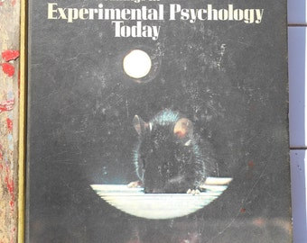 70s Readings In Experimental Psychology Today CRM Books Norman T Adler collection of scientific essays illustrated book cognitive revolution