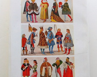 A Pictorial History Of Costume 1965