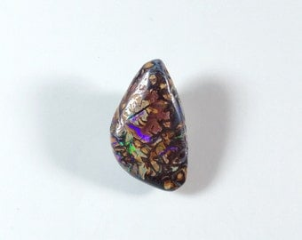 Boulder Opal ~ Opal Cabochon ~ Designer Cabochon ~ Australian Koroit ~ Pendant Gemstone ~ Natural Stone Cab ~ Jewelry Making Supplies