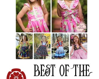 The Best of the Class Dress ~ PDF Pattern ~ One Red Blossom