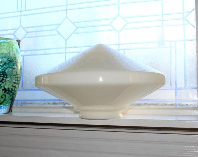 "Huge Art Deco Ceiling Light Shade Globe 14"""