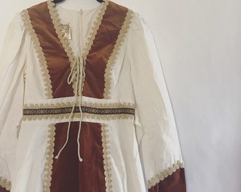 70s Gunne Sax Prairie Dress