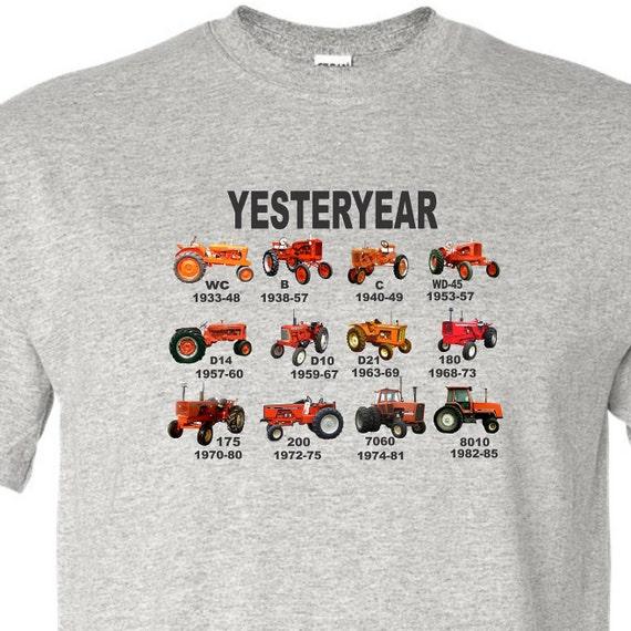 orange tractor shirt, allis chalmers shirt, vintage tractor shirt, tractor shirt, farm shirt, funny shirt