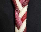 Havdalah - Pomegranate - 6 wick braided - 100% Natural Beeswax Candle