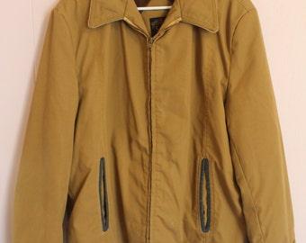 Vintage 60's Sir Jac Faux Fur lined Men's Jacket