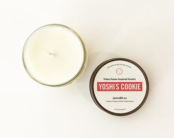 Yoshi's Cookie Gaming Candle