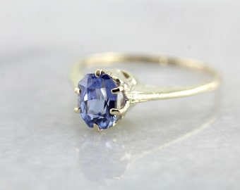 High Mounted Sapphire Engagement Ring 1QQ9W5-P