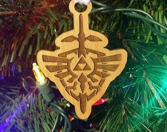 Legend of Zelda Ornament Zelda Christmas Ornament Holiday