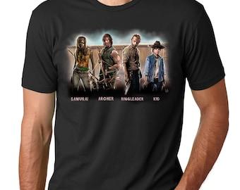 Nicknames of The Walking Dead Gang (The Walking) Unisex T-shirt