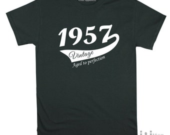 60th Birthday Gift For Man, Vintage (1957) T-shirt, Gift idea. More colors available S-2XL