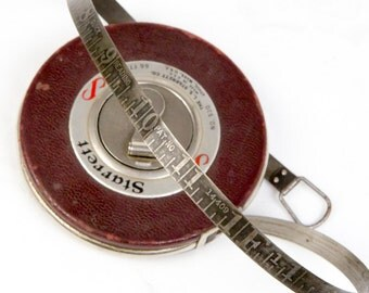 Vintage Starrett 66ft Tape Measure