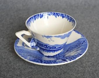 Britain Beautiful - Teacup w/ Saucer