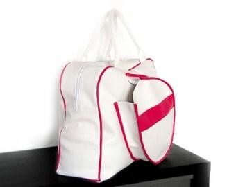 Custom made tennis bag (choose size, colours, add name tag...)