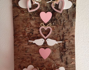 Pink Wall Decoration