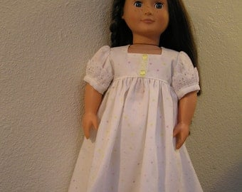 Regency Style Dress and Pantalets for American Girl (like Caroline Abbott), Journey Girl, Our Generation and 18 inch Dolls