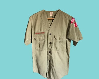 Short-Sleeve Boy Scouts of America Official Shirt