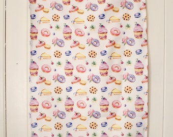Cakes for the Day (Tea Towel) by Kate_Rina