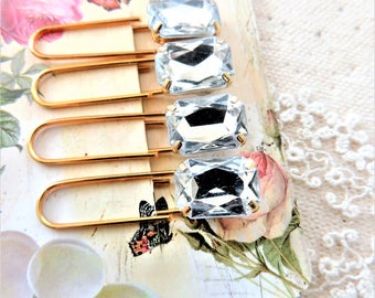 PAPER CLIPS PLANNER Clips Paperclips Cute Paper Clip Office Supplies Pretty Decorative Gold Rhinestone Bookmark Page Markers Accessories
