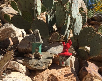 Fairy Homes / Gnome Homes / Happy Hobbit Homes / Pottery Homes / Ceramic Houses *****Lil' Prince & Lil' Princess***** Garden and Yard