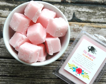 Pink Grapefruit Sugar Scrub Cubes . Solid Sugar Scrub . Grapefruit Sugar Scrub Soap Body Scrub . Gift for Mom Mothers Day Gift Birthday Gift